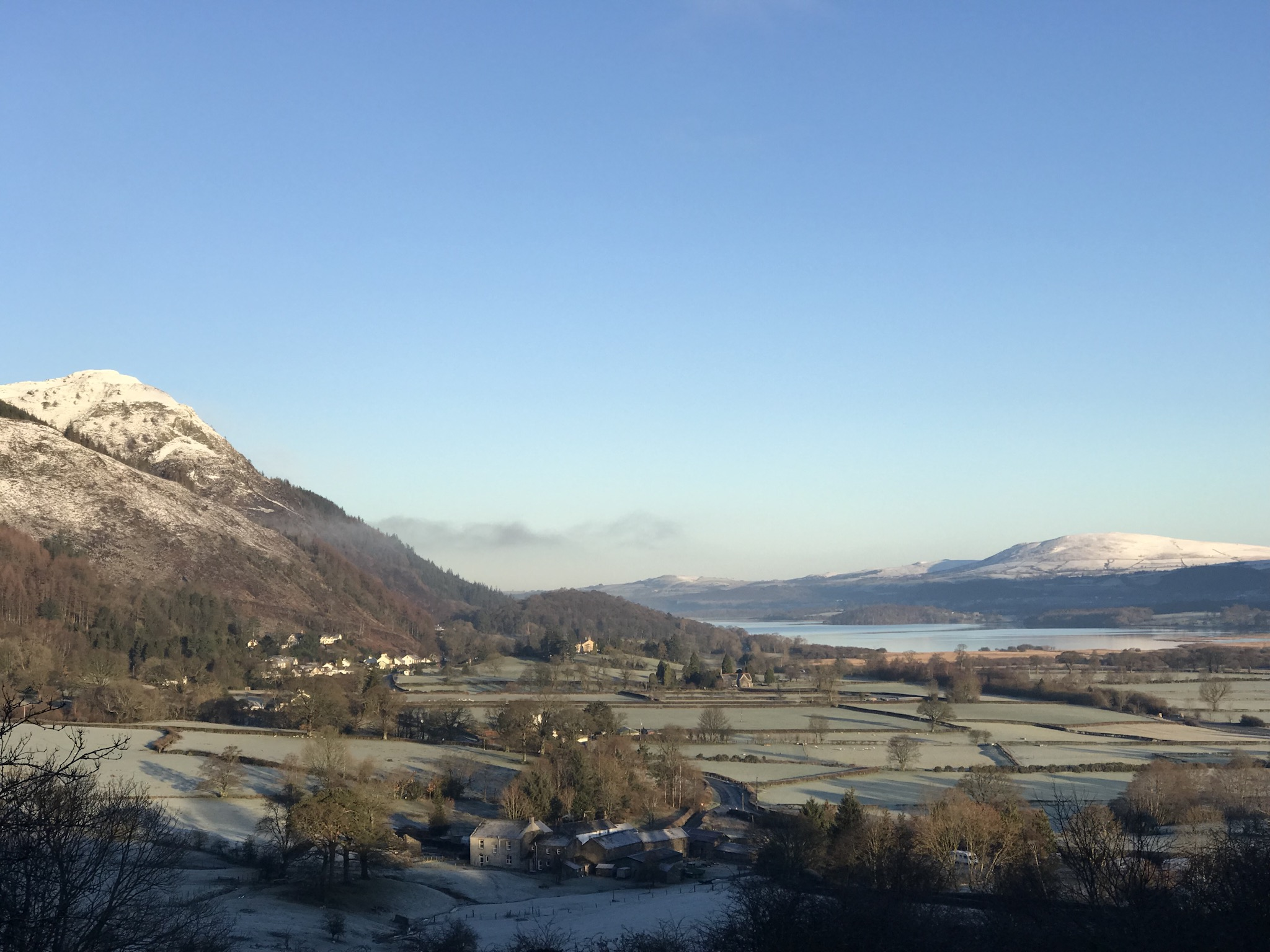 View of Barf and Bassenthwaite Lake