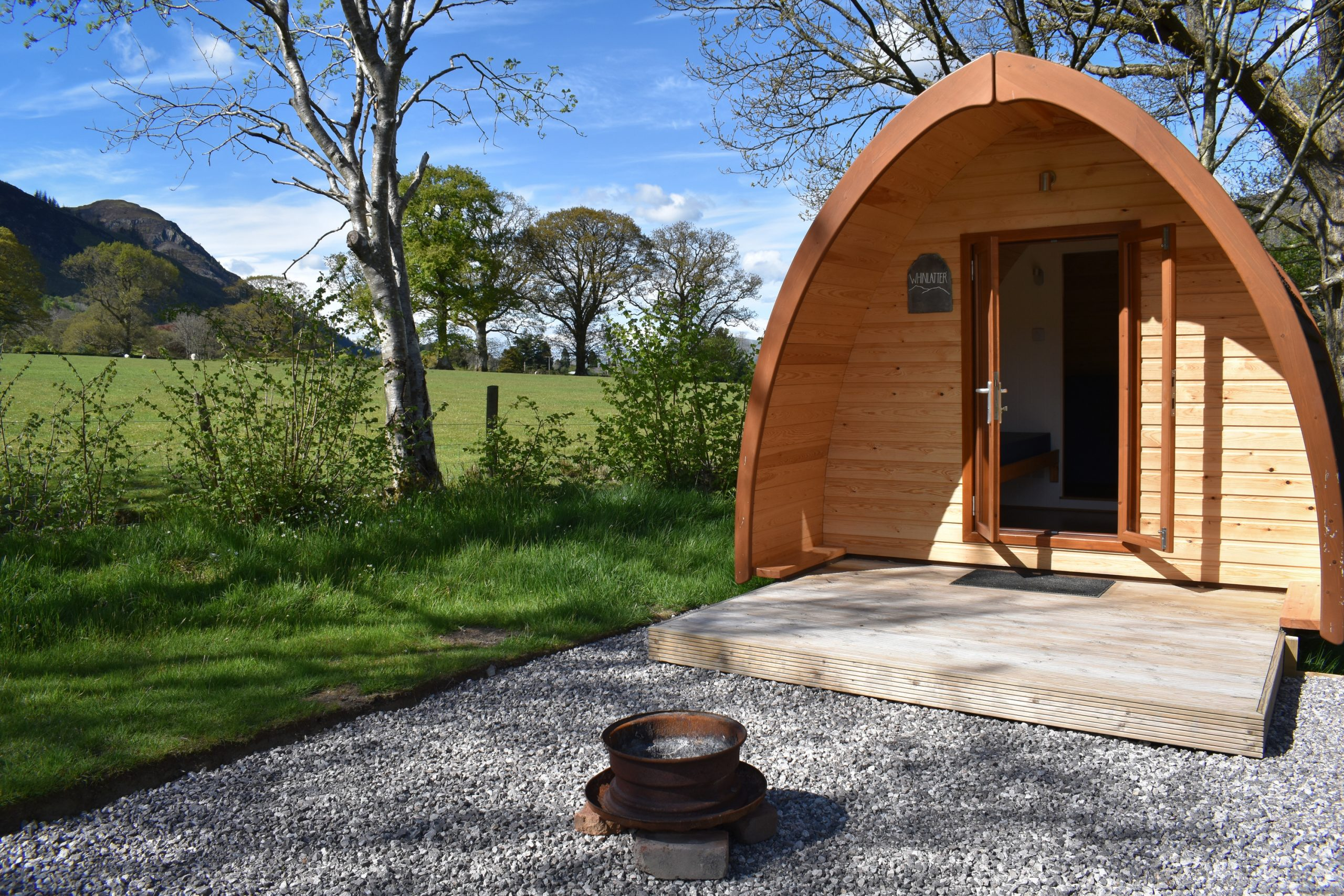 'Whinlatter', Family Plus Pod at Lanefoot Farm Campsite